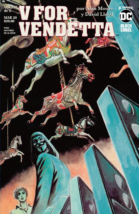 DC Semanal: V for Vendetta VIII de X