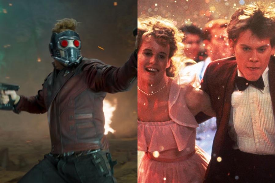 Star-Lord le rinde homenaje a Kevin Bacon y Footloose, a 36 años de su estreno