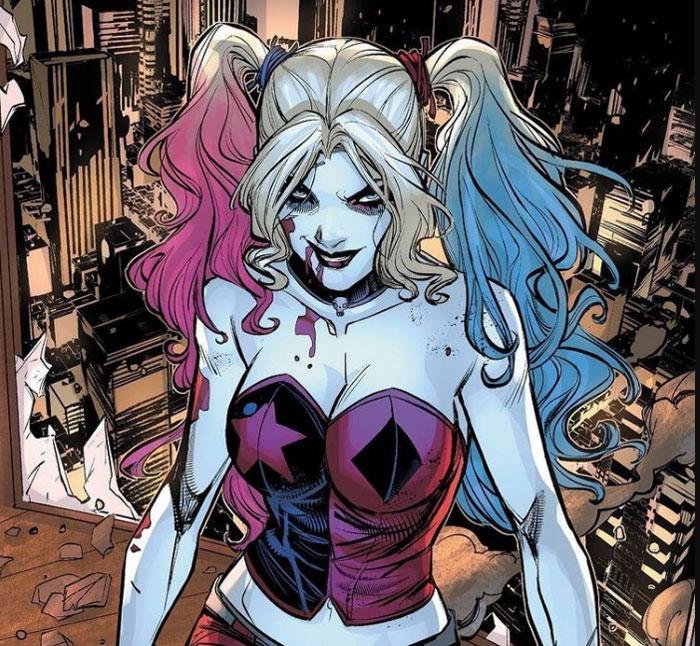 ¿Qué trastornos psicológicos padece Harley Quinn?