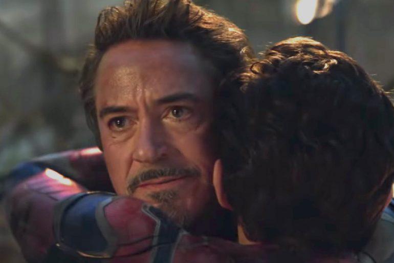 Revelan ensayo detrás de cámara de Robert Downey Jr. en Endgame