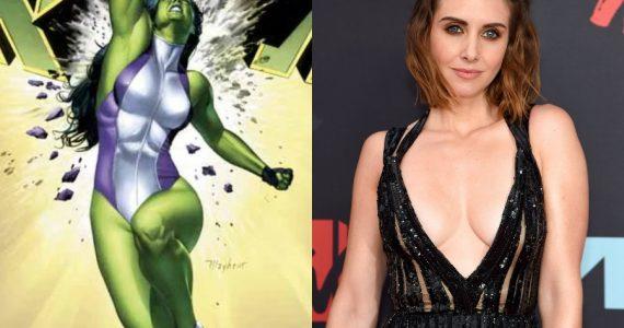 Allison Brie se encuentra en la mira para estelarizar She-Hulk