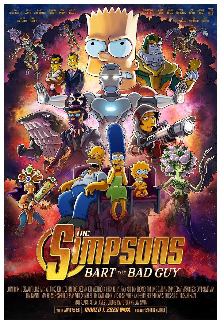 Llega el homenaje de Los Simpson a los Avengers