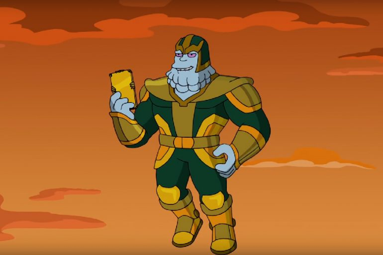 Video de Chinnos, el villano de Kevin Feige para los Simpson