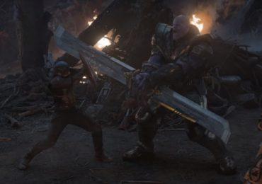 Thanos vence al Captain América en arte conceptual de Avengers: Endgame