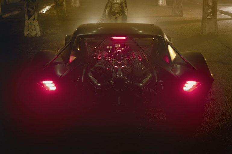 ¿El Batimóvil reveló el logotipo oficial de The Batman?