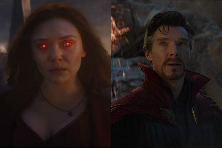 Scarlet Witch y Doctor Strange protagonizan imagen inédita de Avengers: Endgame