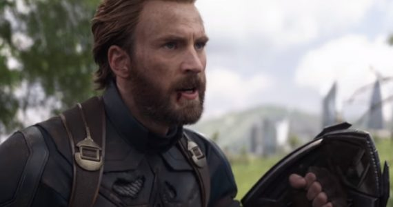 Así eran los diseños del escudo del Captain America para Infinity War