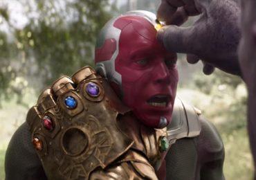 La muerte de Vision en un arte conceptual de Avengers: Infinity War