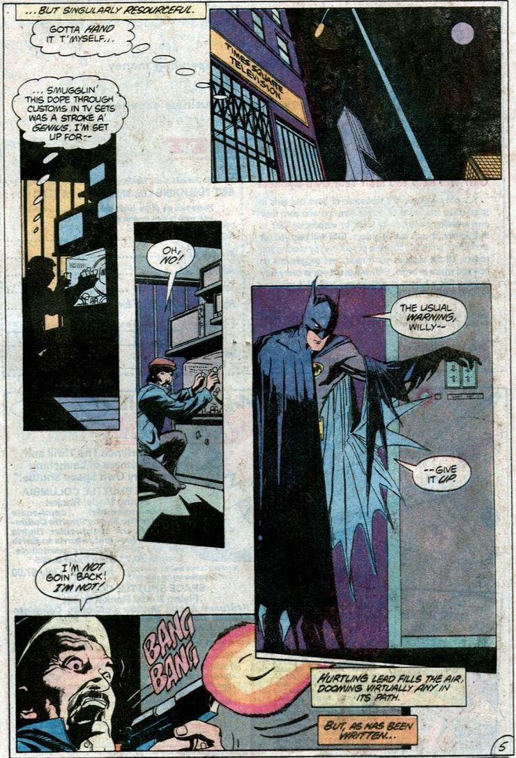 ¿Quién fue la primera opción de Frank Miller para dibujar Batman: Year One?