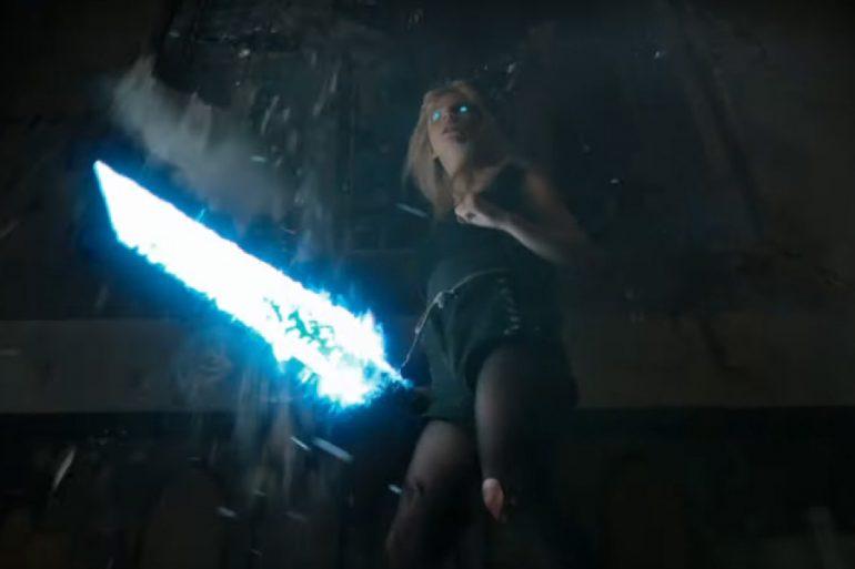 Cannonball y la espada de Magik en el nuevo spot de The New Mutants