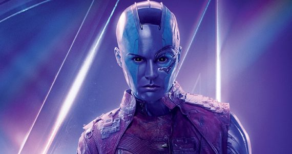 """""""La historia de Nebula apenas inicia"""": Karen Gillian"""