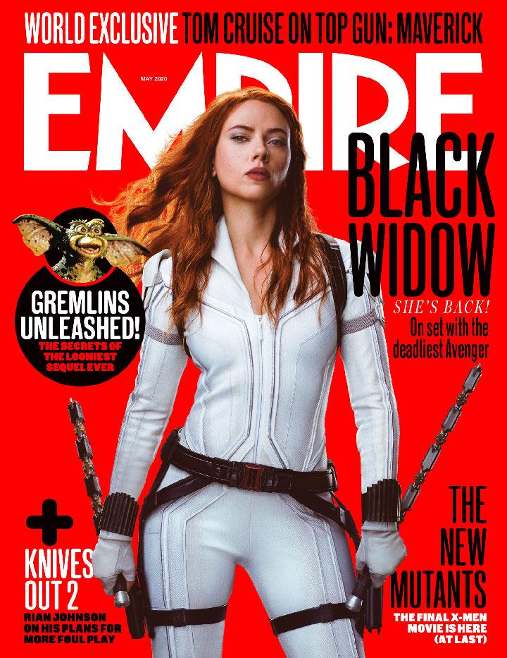 Black Widow en las portadas de la revista Empire