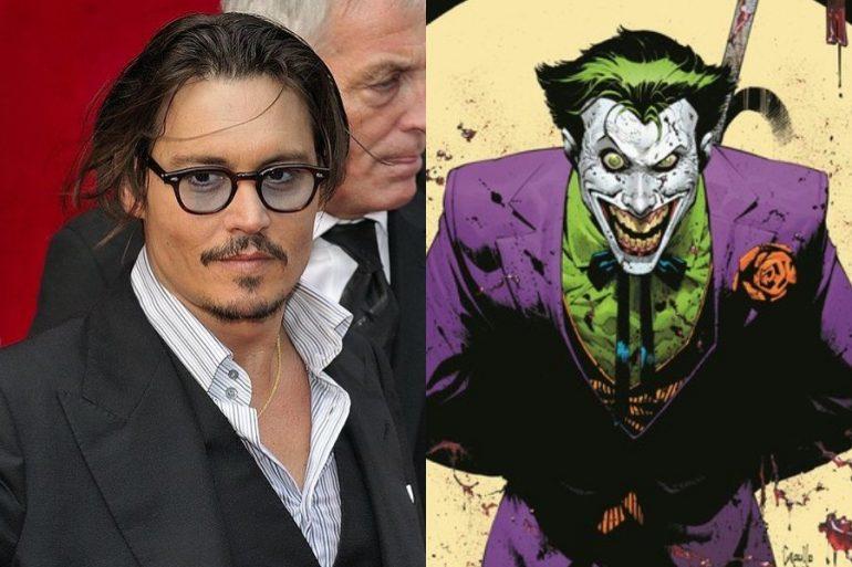Así luciría Johnny Deep como Joker para The Batman
