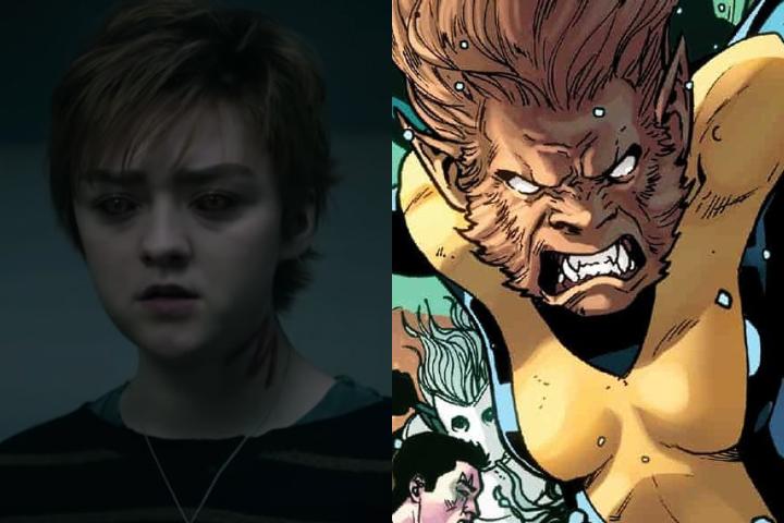 Los secretos de Maisie Williams para convertirse en Wolfsbane en The New Mutants