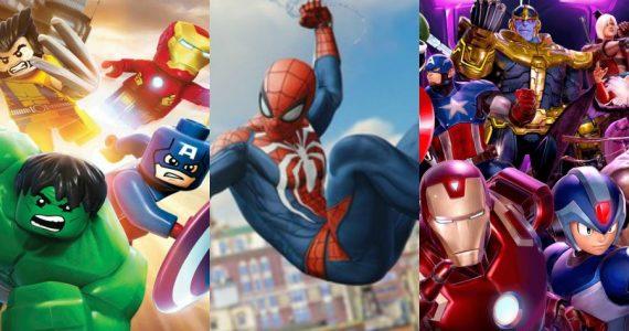 Top 10: Los videojuegos de Marvel contra el aburrimiento de la cuarentena