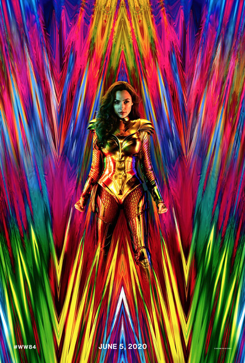 ¡Nos vemos en el 84! Wonder Woman 1984 presenta un increíble póster en movimiento