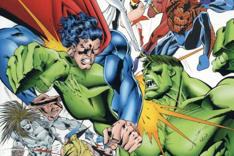 Hulk derrota a Superman en una viñeta nunca antes publicada