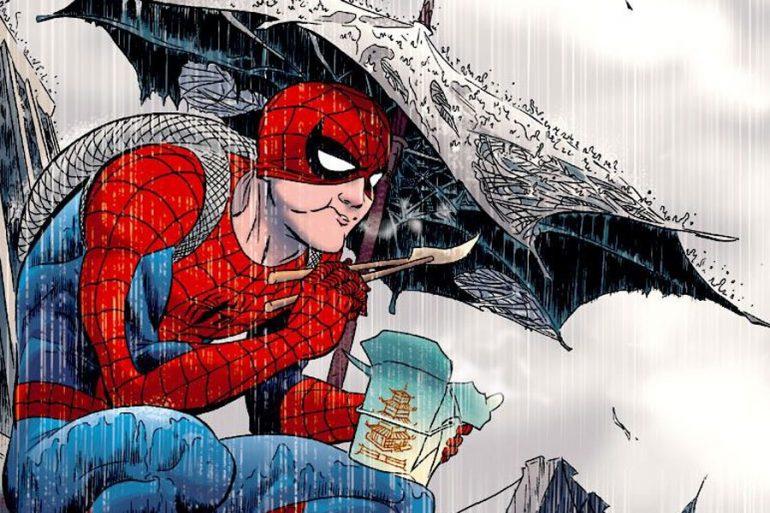 La asquerosa pasta de Spider-Man descubierta luego de 25 años