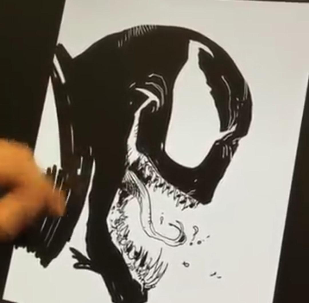 Con el estilo de Todd McFarlane, aprende a dibujar a Venom