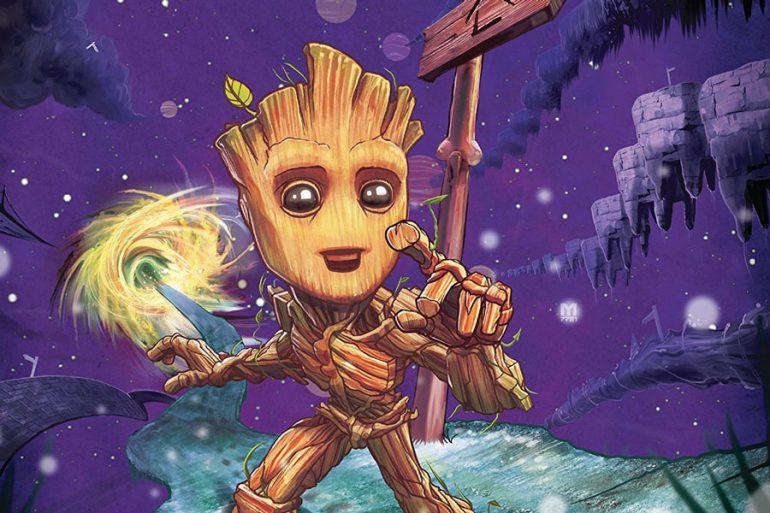 Aprende a dibujar a Groot