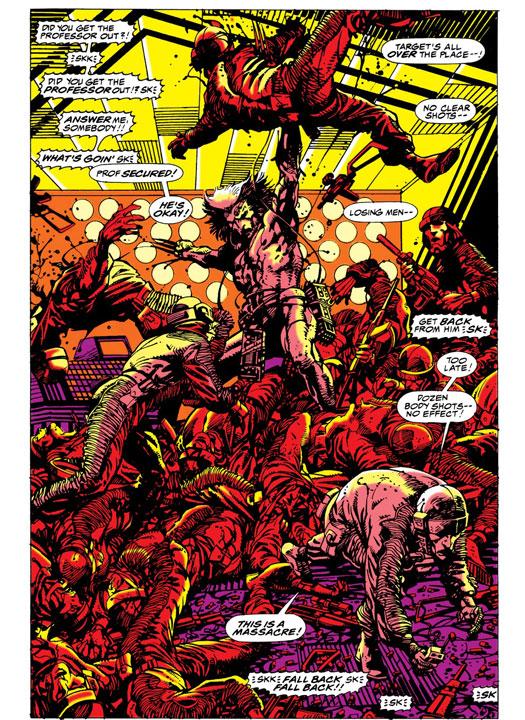 Top 5: los asesinatos más brutales de Wolverine