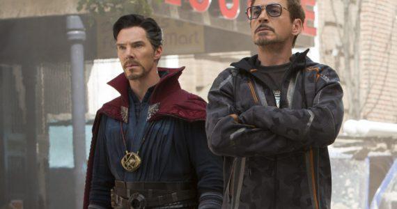 Doctor Strange usaba la armadura de Iron Man en Avengers: Infinity War