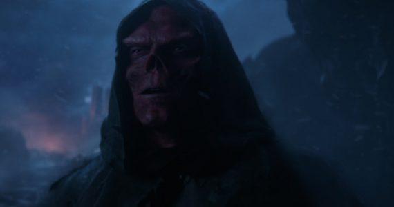 La apariencia inicial de Red Skull en Avengers: Infinity War era diferente
