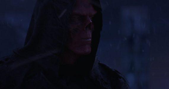 Red Skull y su aterrador arte conceptual en Avengers: Infinity War