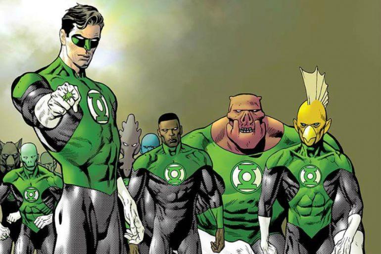 Geoff Johns será el productor de la serie Green Lantern