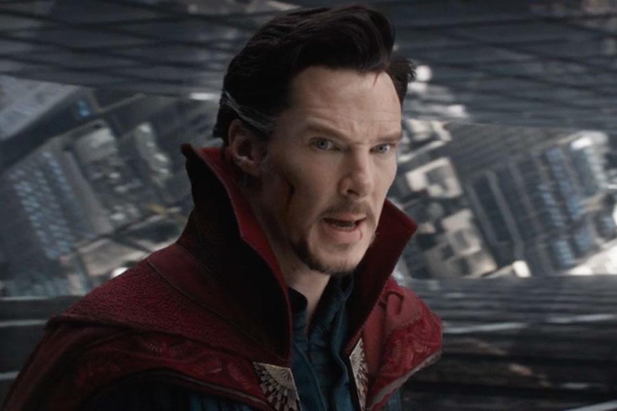 Un arte conceptual revela cómo era el look inicial de Doctor Strange