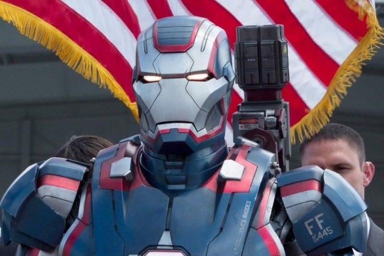 Arte conceptual muestra el diseño de War Machine para Iron Man 3