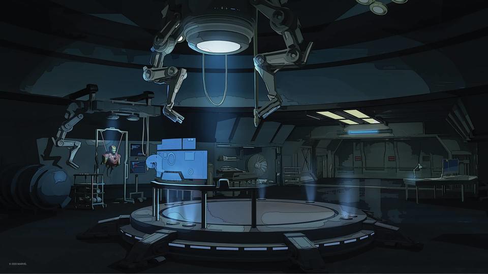 Fondos virtuales de Marvel para tus videollamadas
