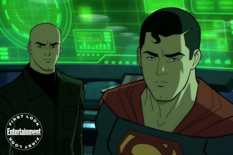 Primer vistazo a la nueva película animada de Superman