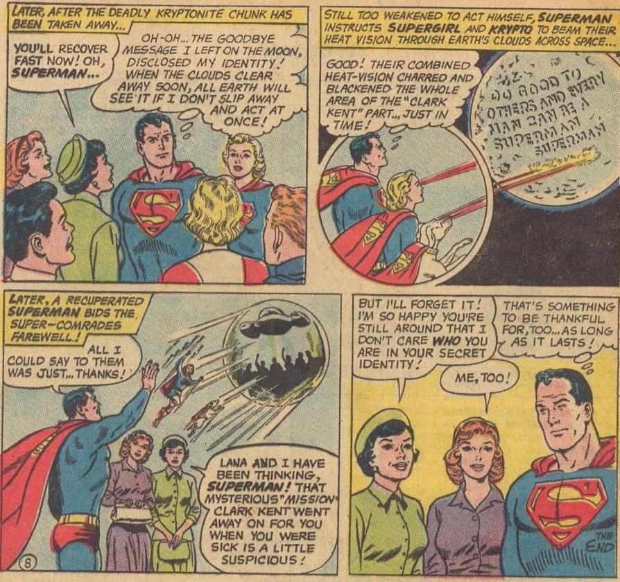 ¿EL Virus X es el fin de Superman?