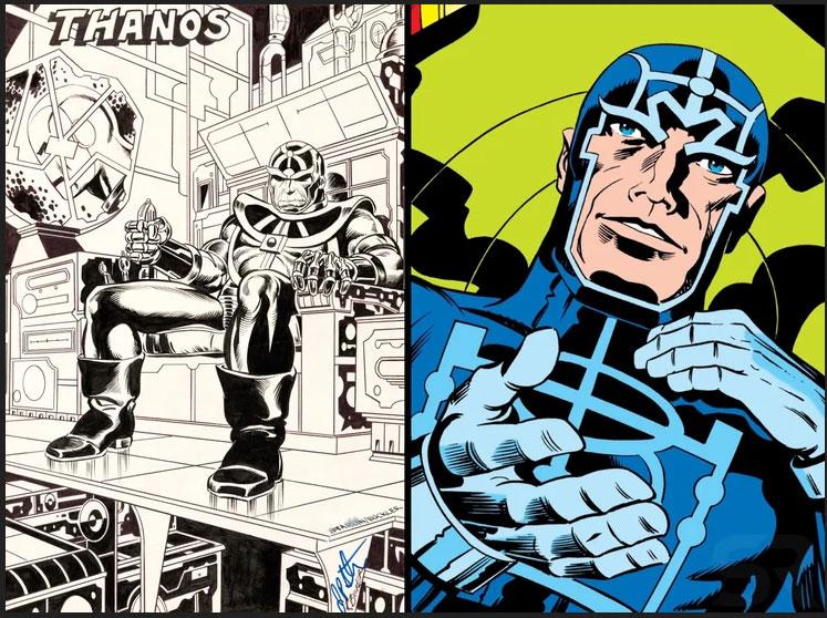 ¿Sabes en qué personaje de Jack Kirby estaría inspirado Thanos?