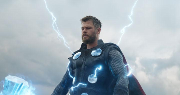 Chris Hemsworth, el guardián del Mjonlir y el Stormbreaker
