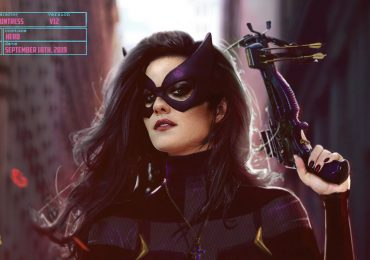 Birds of Prey arte conceptual de Huntress más cercano al cómic