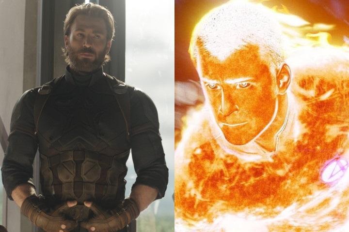 Así consiguió Chris Evans el papel de Human Torch en Fantastic Four. Antorcha Humana. 4 Fantásticos. Cuatro Fantásticos