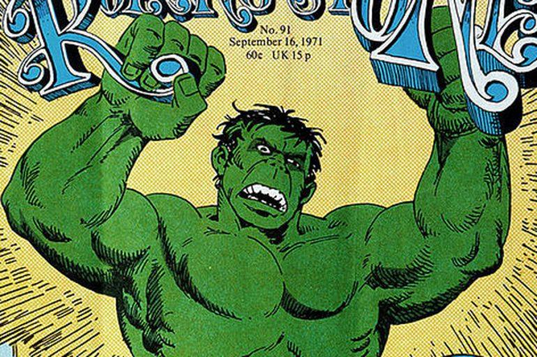 Cuando el Hulk de Herb Trimpe estuvo en la portada de Rolling Stone