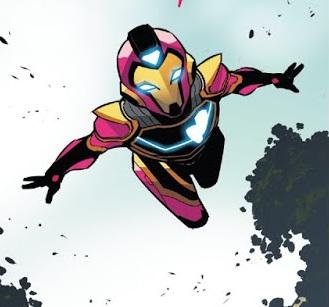 Así luciría la armadura de Ironheart para su serie live action
