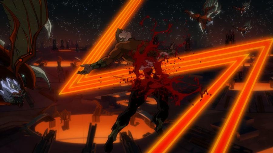 Los momentos más violentos de Justice League Dark: Apokolips War