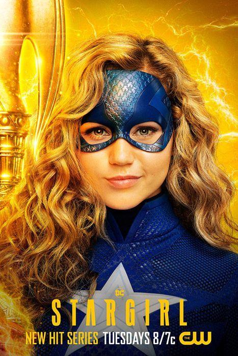 Stargirl nos presenta los pósters individuales de sus personajes