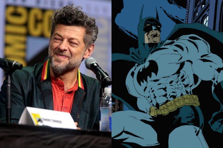 """The Batman será una película oscura e intensa"": Andy Serkis"