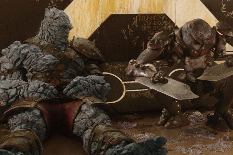 Los gladiadores de Sakaar lucen en arte conceptual de Thor: Ragnarok