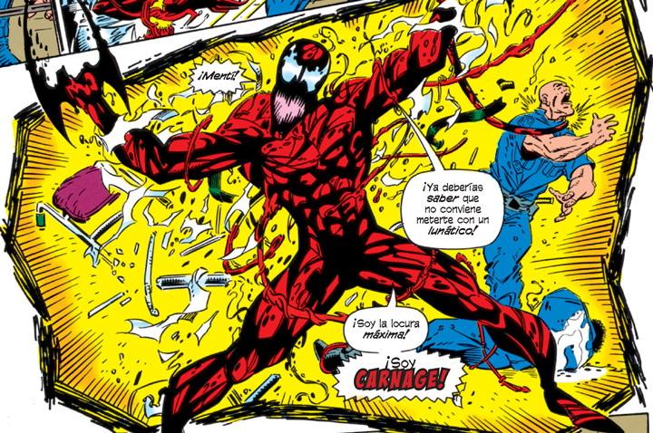 Top 5: Las mejores versiones de Carnage en la historia de Marvel