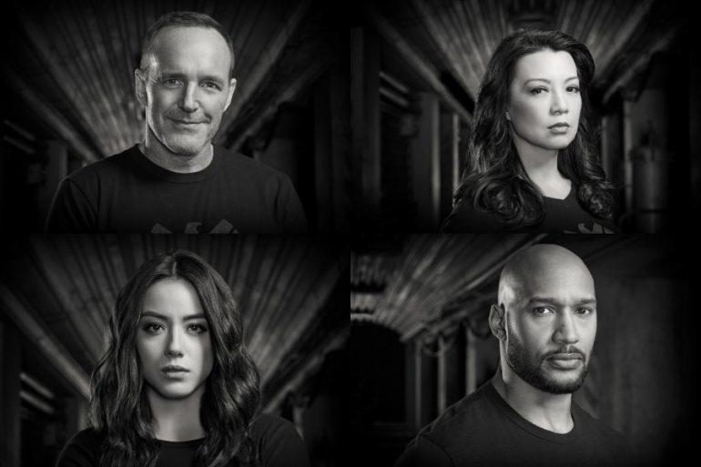 Estos son los posters individuales de la última temporada de Agents of SHIELD