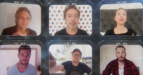 Los Avengers se vuelven a juntar para los Kids' Choice Awards