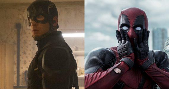 El Capitán América se rinde ante las ideas de marketing de Deadpool
