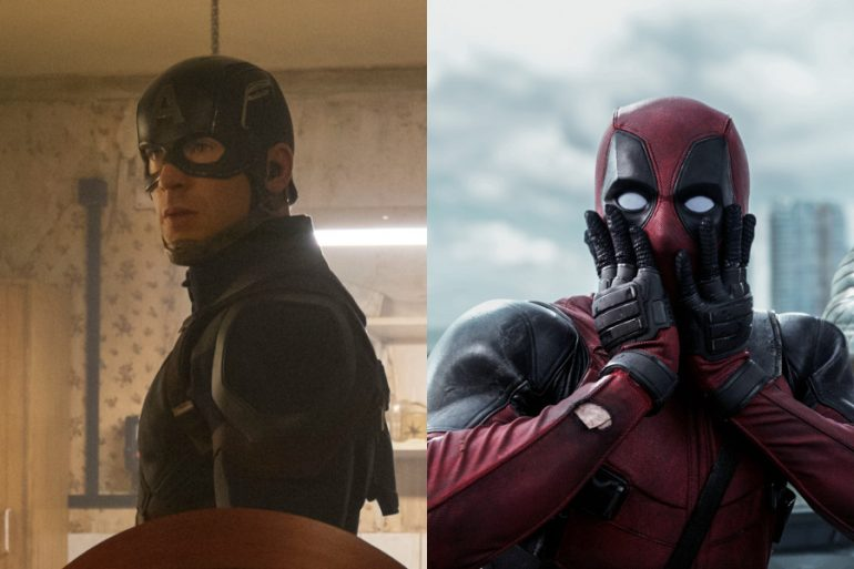El Capitán América se rinde ante las ideas de marketing de Deadpool
