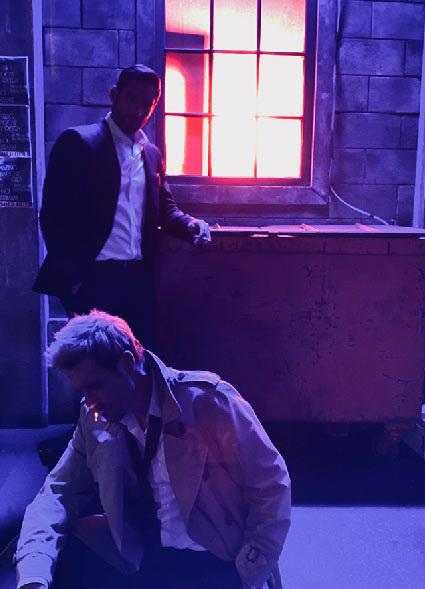 Matt Ryan explica la relación de Constantine y Lucifer en el Arrowverse